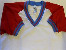 "NOS Vtg '80's Sportswear Baseball Jersey Size Medium 39"" Chest Mesh USA!"