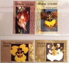 GHANA 2004 3683-90 Orchideen Orchids Blumen Flowers Flora Pflanzen Plants MNH