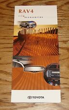 Original 2004 Toyota RAV4 Accessories Foldout Sales Brochure 04