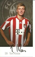 FC Bayern München Autogrammkarte Toni Kroos