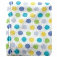 Luvable Friends Boy Coral Fleece Blanket, Blue