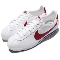 Nike Classic Cortez Leather Forrest Gump OG White University Red Men 749571-154