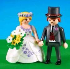 playmobil novios novia rubia boda tarta nupcial