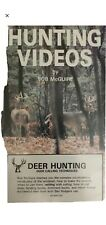 Hunting Videos By Bob Mcguire Vhs-Tested-Rare Vintage Collectible