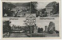 Ansichtskarte Helmarshausen - Kruckenburg/Sanatorium Haus Kleine - schwarz/weiß