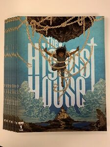 IDW THE HIGHEST HOUSE #1 REGULAR COVER : 9-COPY LOT : NM CONDITION