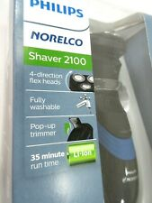 Philips Norelco Shaver 2100 Electric Shaver Razor Pop-Up Trimmer Flex Head NEW