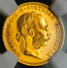 1915, Austria (Empire), Francis Joseph I. Gold Ducat Coin. Re-Strike! NGC MS-66!