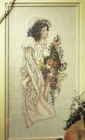 Harvest Angel Cross Stitch Pattern Chart from a magazine Give thanks blessings