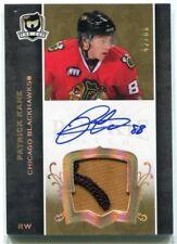 2007-08 The Cup Gold Rainbow Autographs 185 Patrick Kane Rookie Patch Auto 42/88