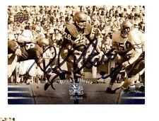 Rocky Bleier Notre Dame Irish hand signed autographed 2013 Upper Deck card ND!