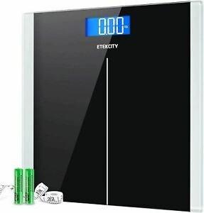 Etekcity Digital Body Weight Bathroom Scale with Step-On Technology, 400 Lb, Bod