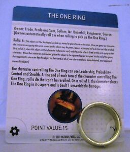 HEROCLIX Lord of the Rings S101 THE ONE RING
