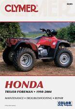 Clymer Repair Service Shop Manual Vintage Honda TRX450 Foreman 98-04