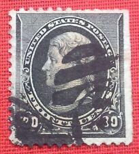 США Sc#0228 used (1887) 30c б/у - Fine-финансовая: руководство правый верхний