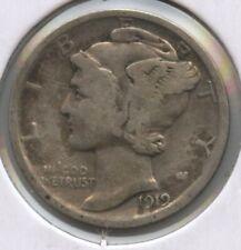 1919 Mercury Dime Silver - Philadelphia Mint BC863