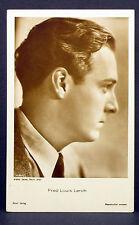Fred Louis Lerch - Actor Movie Photo - Foto Autogramm-Karte AK (Lot-Z-1951)