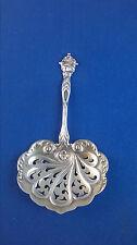 GORHAM Bon Bon Spoon H45 1902 STERLING SILVER ART NOUVEAU Pierced No Mono
