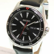 Seiko Armbanduhren im Luxus-Stil mit Datumsanzeige für Herren