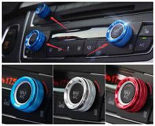 FOR BMW X5 E70 X6 E71 14-15 Interior Air conditioning knobs Button Cover Trim
