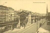 Ansichtskarte Berlin Hochbahnhof Bülowstrasse 1916  (Nr.800)