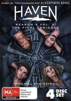 Haven : Season 5 : Part 2 (DVD, 4-Disc Set) NEW
