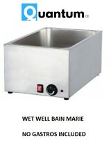 More details for quantum ce ® wet well bain marie hot food sauce warmer brand new