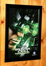 Tom Clancy's Splinter Cell Chaos Theory Small Poster / Ad Page Framed GameCube