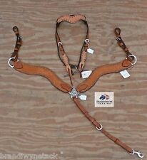 Alamo NEW WAVE Roughout Headstall & Breastcollar set~NWT!~