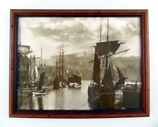 FRANK SUTCLIFFE  - THE DOCK END WHITBY 1880 - FRAMED PHOTO - Sutcliffe Gallery