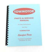 Towmotor Model Lt35 Parts Catalog Amp Service Manual Circa 1950 Scanned Copy