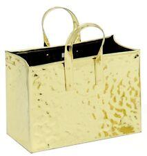 portariviste in ottone  a forma di borsetta H tot cm 32