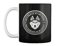 Husky Mix Puppies Siberian - No Longer By My Side But Forever In Gift Coffee Mug