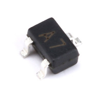 100pcs bav99w a7 0.15a 100v sot-323 smd switch transistor new