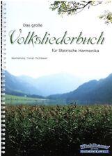 Steirische Harmonika Noten : Das große Volksliederbuch - Griffschrift