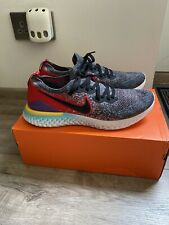 Nike Epic React Flyknit 2 UK11/eur46 Running Gym Man Trainers RRP£130 Used