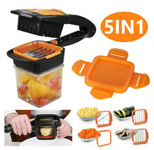 5 in 1 Nicer Dicer Multi-Cutter Quick Food Fruit Vegetable Slicer Chopper Cutter