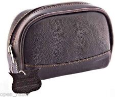 Parker Small Leather Wash Bag
