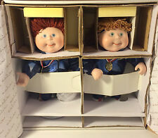 Danbury Mint 1996 Cabbage Patch Olympikids: Robert Andrew & Lisa Michele in box