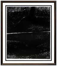 Henry Moore Original Lithograph Signed Divided Landscape Abstract Modern Artwork