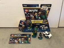 Lego Dimensions Midway Arcade Level Pack. Complete. 71235. Very Rare.