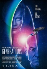 Star Trek Generations (1994) Original Film Poster - Gerollt