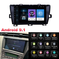 9'' Android 9.1 Car Stereo Radio Navigation GPS 1+16G For Toyota Prius 2009-2013