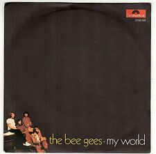 disco 45 GIRI THE BEE GEES MY WORLD - ON TIME