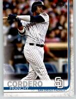 (15) 2019 Topps Series 2 15-Card Base Lot FRANCHY CORDERO Padres #539