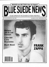 Blue Suede News #26 Frank Zappa Elvis SUN Wailers