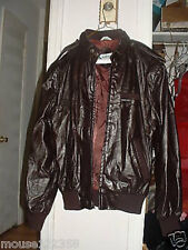 Vintage Members Only   Leather Jacket size 40