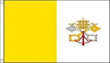 VATICAN CITY FLAG 5' x 3'  Italy Italian Flags