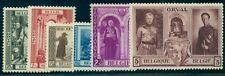 Belgium #B250-5 Complete set, og, Nh, Vf, Scott $82.50