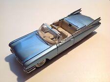 Franklin Mint 1959 Cadillac Biarritz Convertible - blau - NEU - Box und Papiere